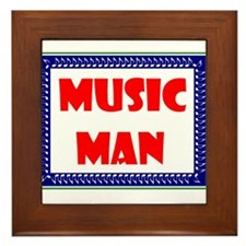 MUSIC MAN Framed Tile