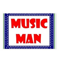 MUSIC MAN Postcards (Package of 8)