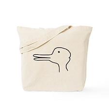 Rabbit Duck Optical Ilusion Tote Bag