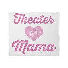 Theater Mama Throw Blanket