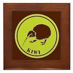 Kiwi Framed Tile