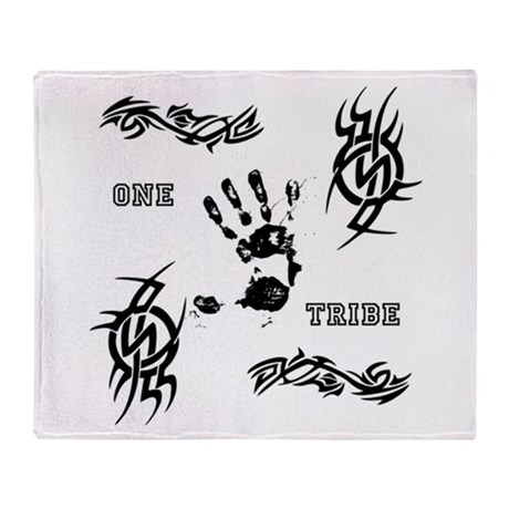 One Tribe Throw Blanket