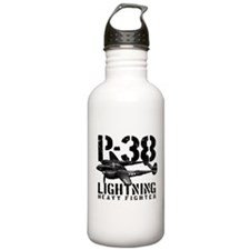 P-38 Lightning Water Bottle