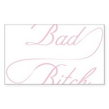 Bad Bitch Decal