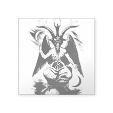 Baphomet Rectangle Sticker