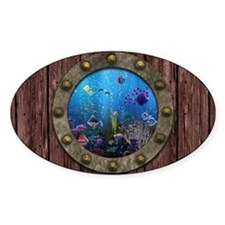 Underwater Love Porthole Decal