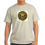 Michigan Corrections Ash Grey T-Shirt