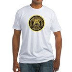 Michigan Corrections Fitted T-Shirt