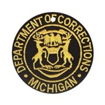 Michigan Corrections Ornament (Round)