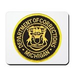 Michigan Corrections Mousepad