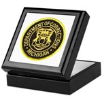Michigan Corrections Keepsake Box