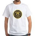 Michigan Corrections White T-Shirt