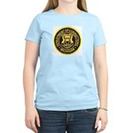 Michigan Corrections Women's Pink T-Shirt