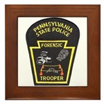 Pennsylvania C.S.I. Framed Tile