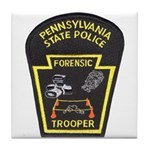 Pennsylvania C.S.I. Tile Coaster