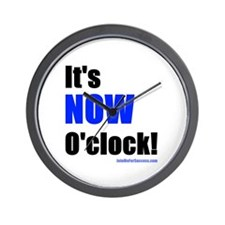 Funny Now Wall Clock
