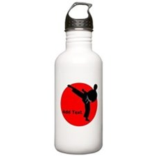 Karate Man Water Bottle
