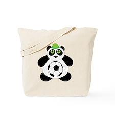 Panda Soccer Ball Tote Bag