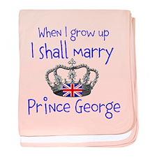 Marry Prince George baby blanket