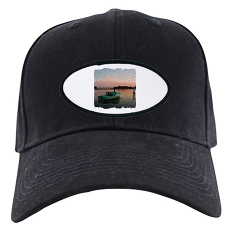 Sunset Boat Black Cap
