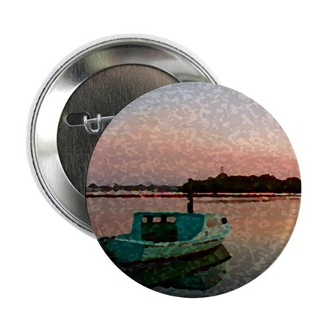 "Sunset Boat 2.25"" Button (10 pack)"