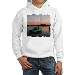 Sunset Boat Hooded Sweatshirt