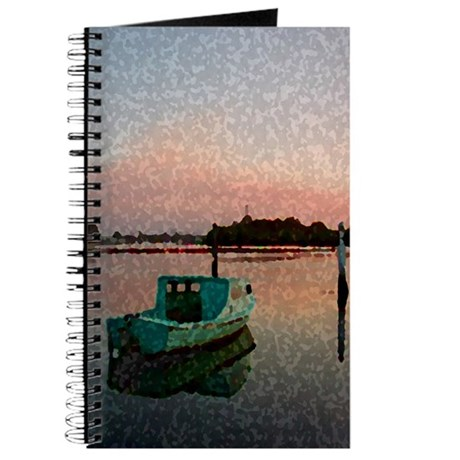 Sunset Boat Journal