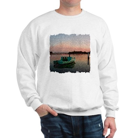 Sunset Boat Sweatshirt