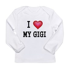 I LOVE MY GIGI 2 Long Sleeve T-Shirt