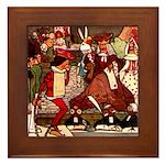 Attwell 12 Framed Tile