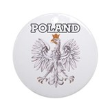 Poland! Ornament (Round)