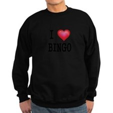 I LOVE BINGO 3 Sweatshirt