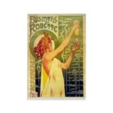 Absinth Ad from late 19th cen Rectangle Magnet