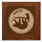 Sloth Framed Tile
