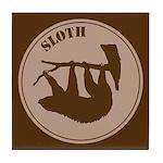 Sloth Tile Coaster