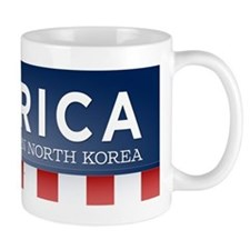Better Than North Korea Small Mug