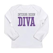 Interior Design DIVA Long Sleeve Infant T-Shirt