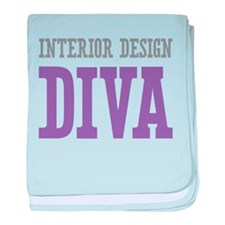 Interior Design DIVA baby blanket