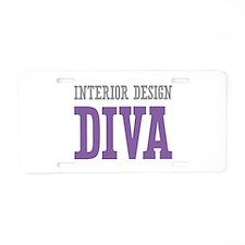 Interior Design DIVA Aluminum License Plate
