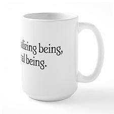 Man is a Rationalizing Being Mug