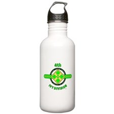 4TH Infantry Division Ivy Water Bottle