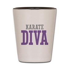 Karate DIVA Shot Glass