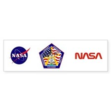 STS-104 Atlantis Bumper Sticker