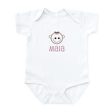 Maia - Baby Face Infant Bodysuit