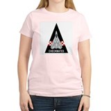 F-14 Tomcat VF-211 Checkmates Women's Pink T-Shirt