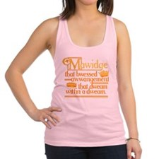 Princess Bride Mawidge Speech Racerback Tank Top