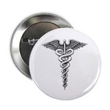 Medical Emblem Button