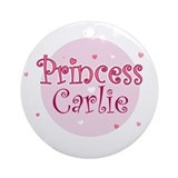 Carlie Ornament (Round)