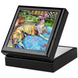 Greyhound Keepsake Box