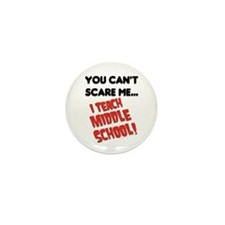 I teach middle school Mini Button (10 pack)